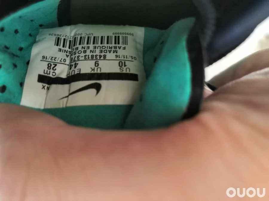 44码JP280闲置正品耐克鬼牌2代足球鞋opus fg