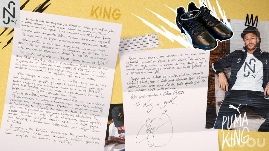 王者归位!PUMA与内马尔达成长期合作关系,巴西巨星将代言PUMA KING足球鞋