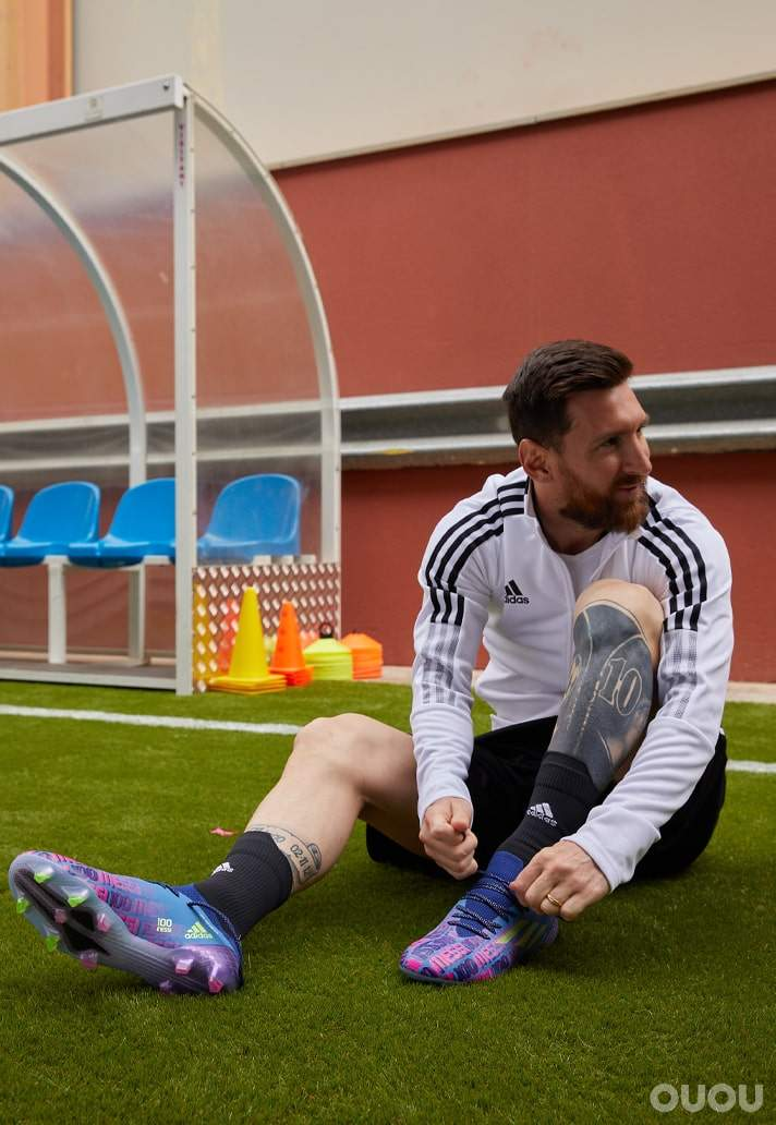 """阿迪达斯发布 Messi """"Unparalleled"""" X Speedflow .1足球鞋"""