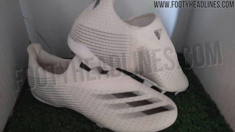 新一代无鞋带X Ghosted足球鞋曝光