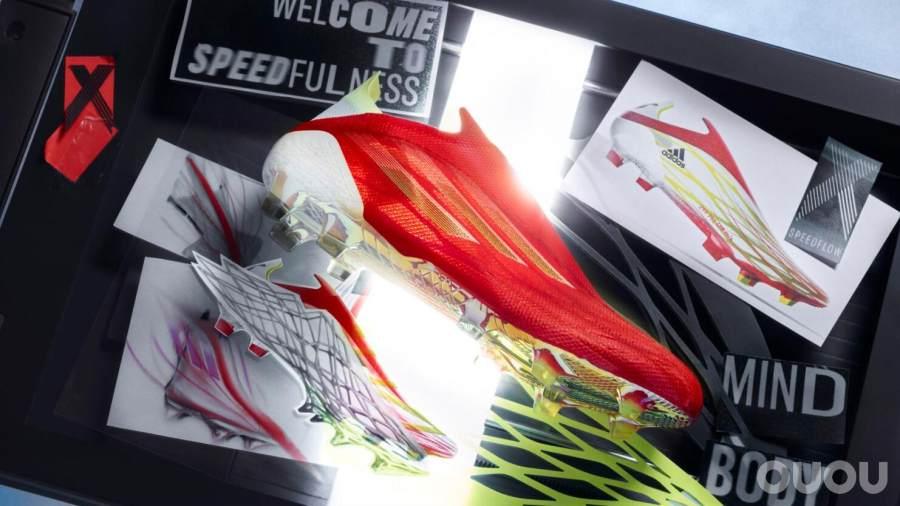 阿迪达斯发布X SPEEDFLOW足球鞋,期待刷新疾速定义