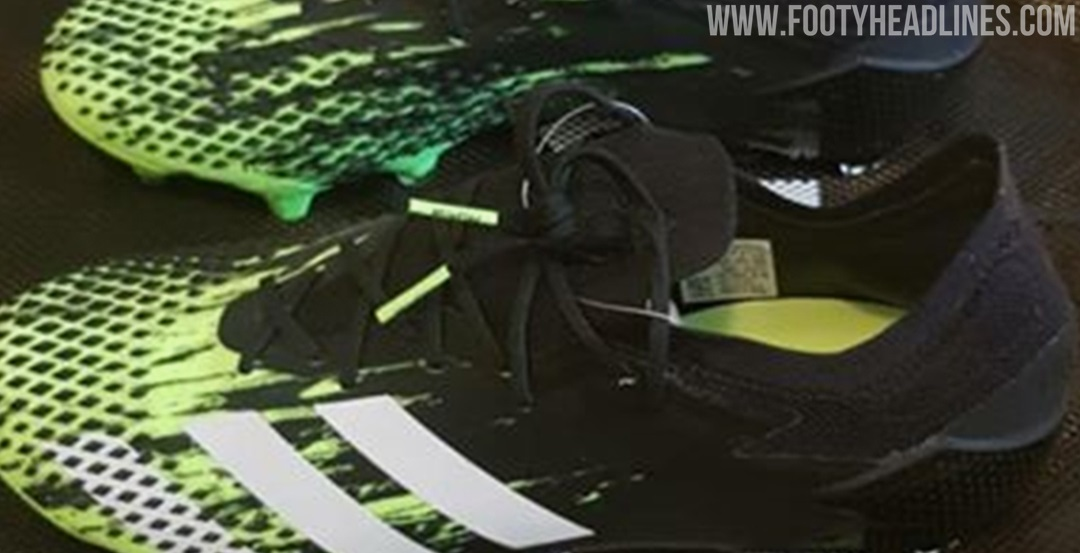 adidas Predator20 Signal Green配色曝光