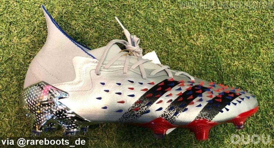 阿迪达斯Predator freak欧洲杯淘汰赛配色曝光