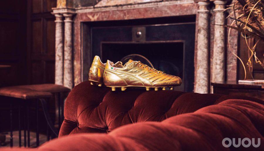 Diadora推出限量版金靴