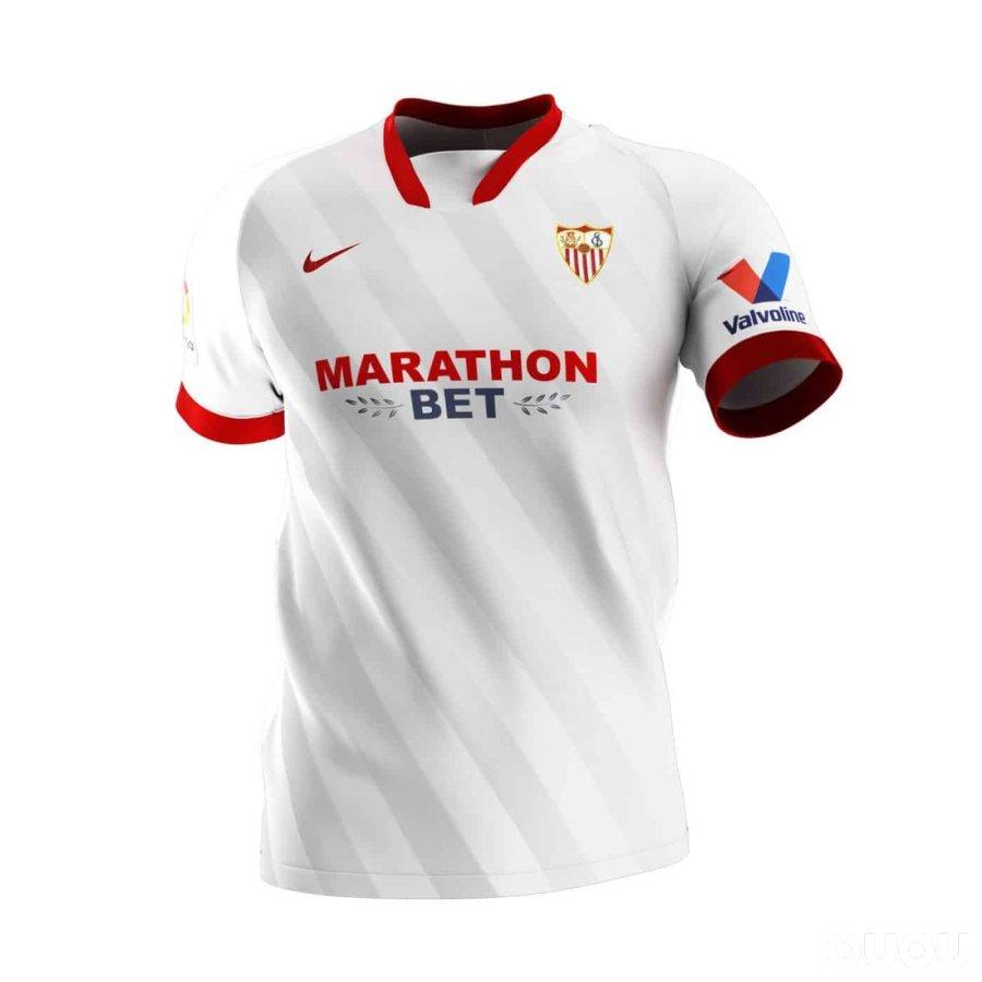 西甲20-21新赛季球衣一览