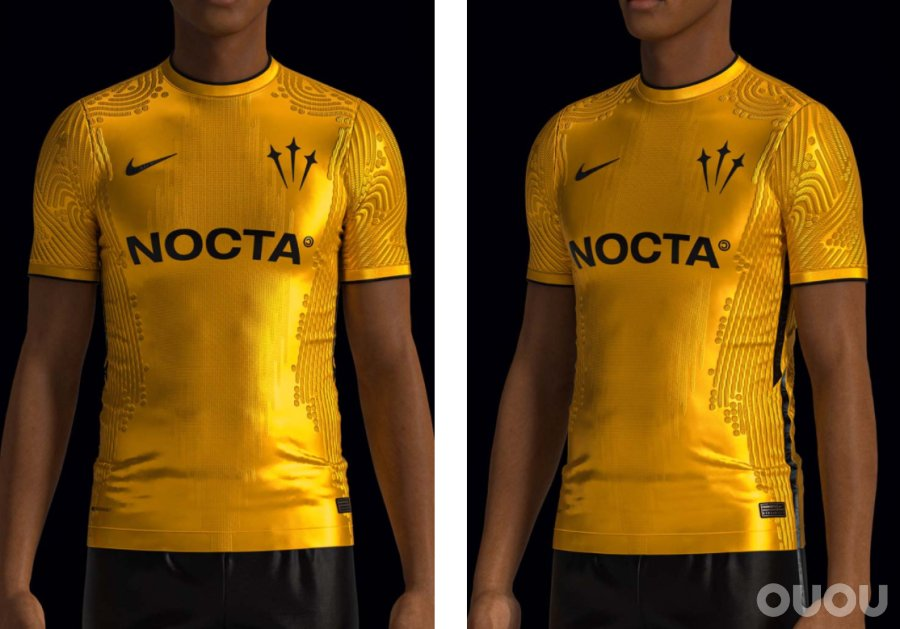 SETTPACE创作 Nike x NOCTA 概念球衣