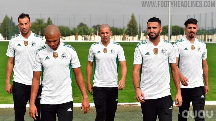 阿迪达斯阿尔及利亚20-21主场球衣发布