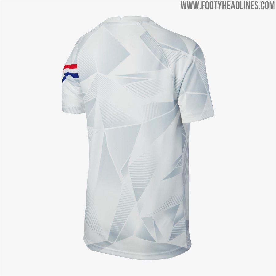 荷兰2020训练套装曝光