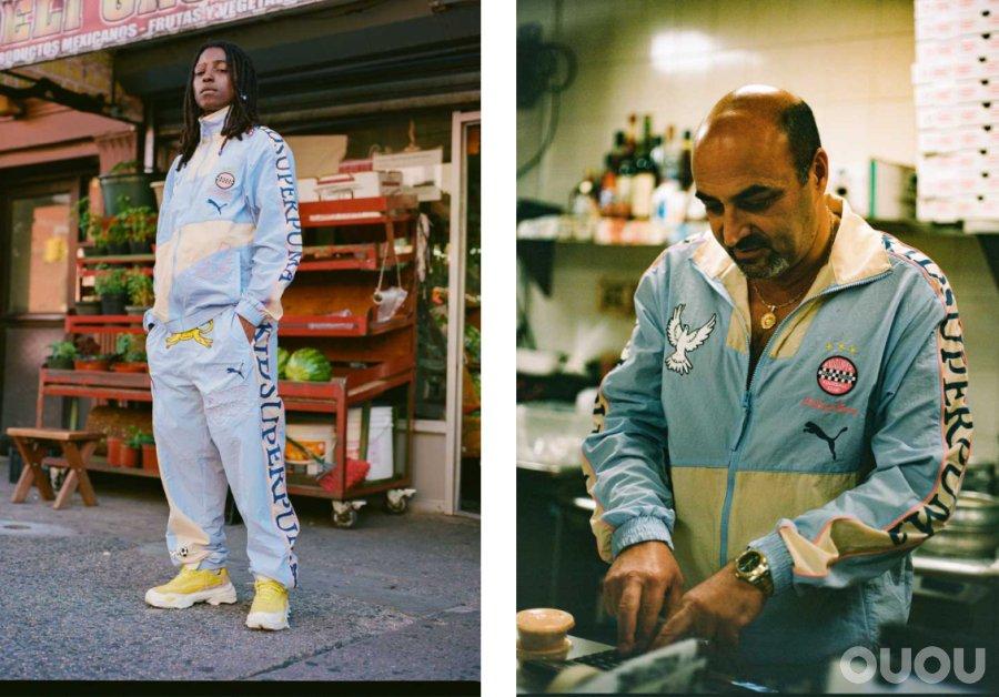 PUMA和KidSuper发布足球风格街头服饰系列