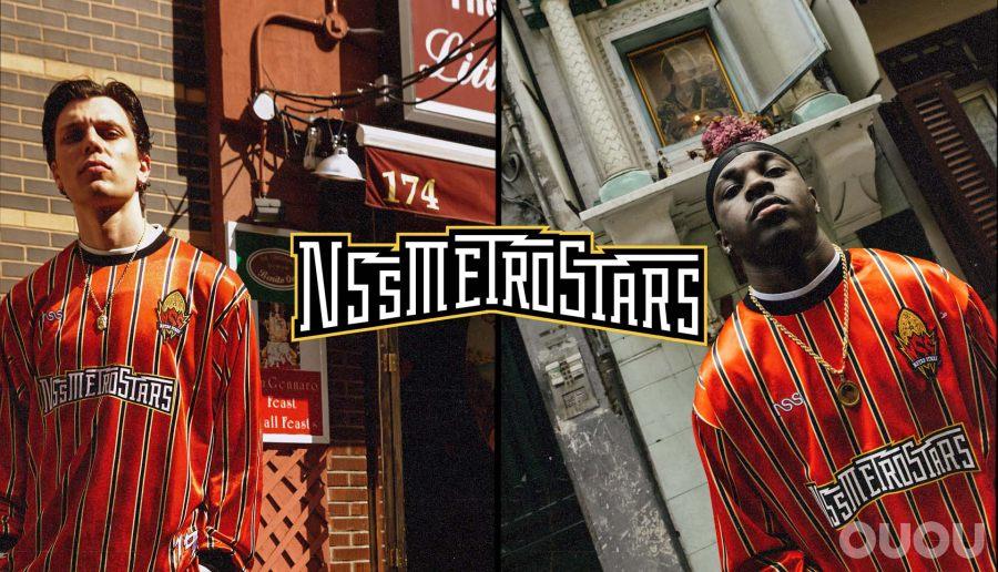 NSS发布地铁明星主题球衣