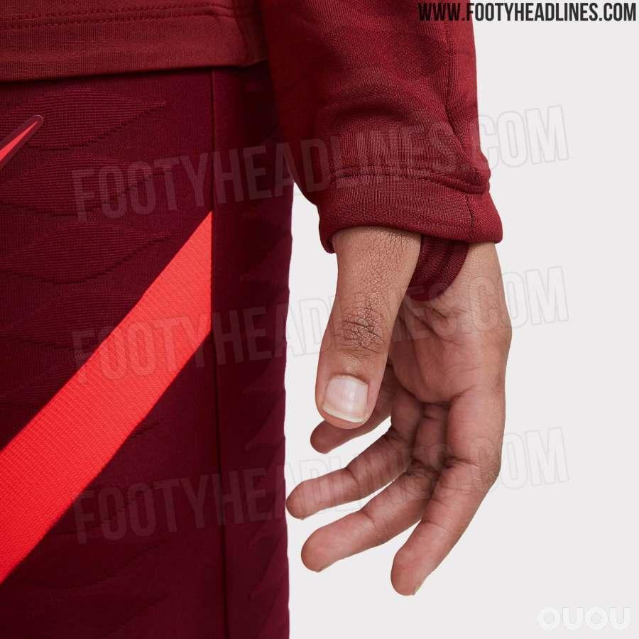 耐克利物浦21-22训练系列曝光