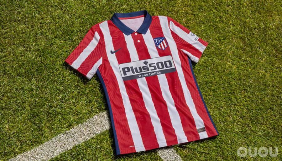 耐克推出马德里竞技队20/21赛季主场球衣