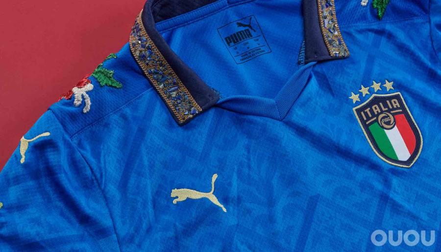 PUMA与Football Gal合作改造意大利球衣