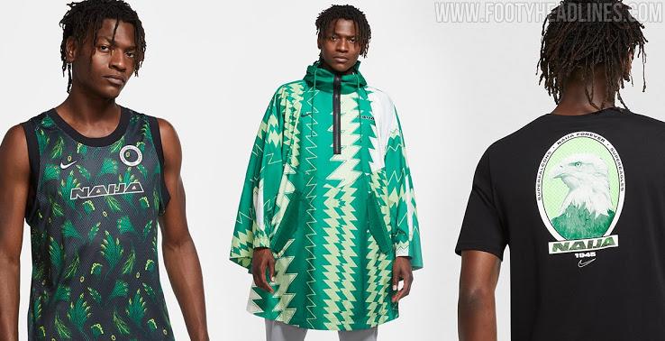 NIKE尼日利亚2020-21系列惊艳登场