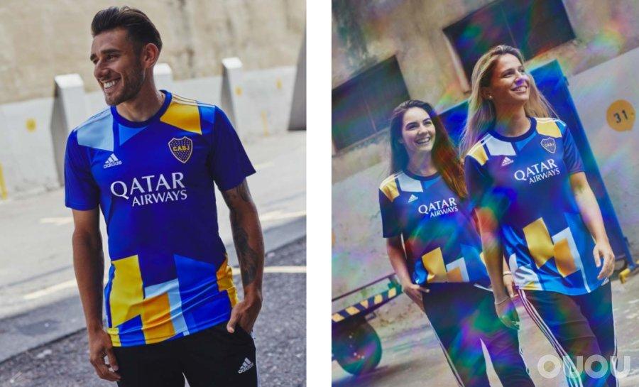 阿迪达斯推出博卡青年2021赛季第三球衣