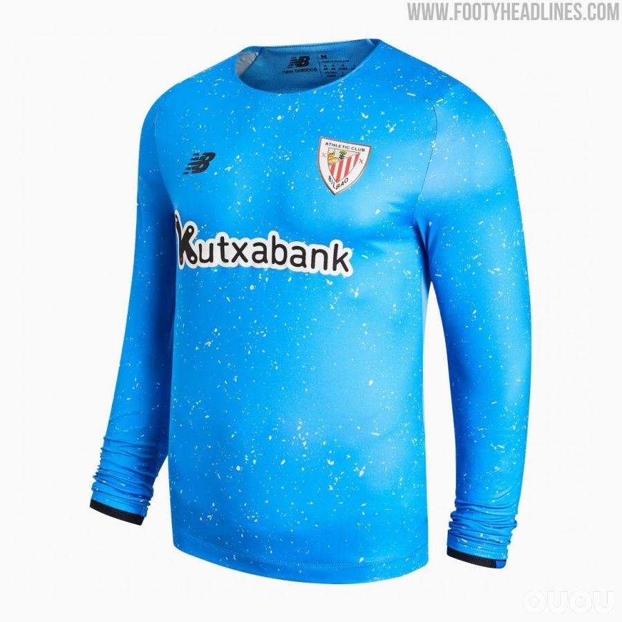 毕尔巴鄂竞技发布2021/2022赛季客场球衣