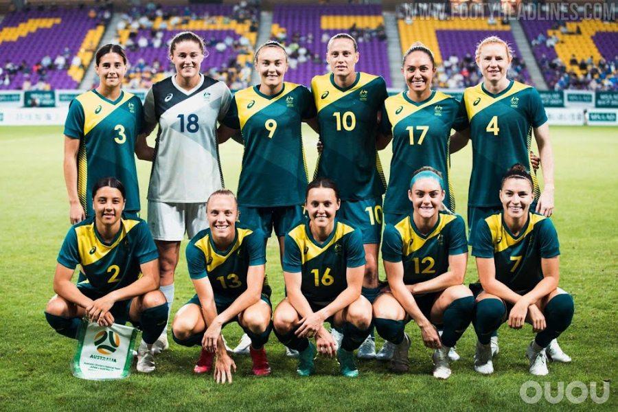 不再是耐克!亚瑟士澳大利亚2020东京奥运会主客场球衣发布
