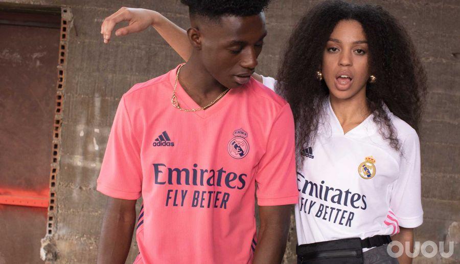 阿迪达斯发布皇家马德里20/21赛季主客场球衣