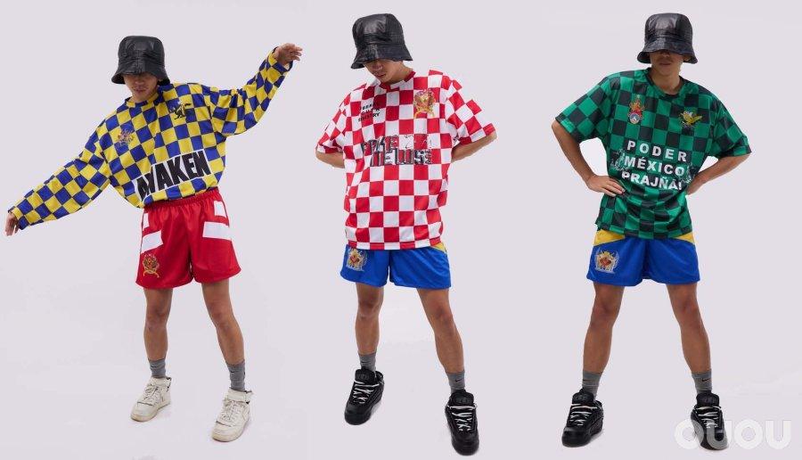 墨西哥时尚品牌Liberal Youth Ministry发布2021春夏季足球文化衫