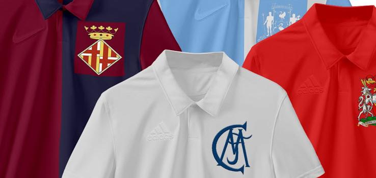 受AIK索尔纳启发:巴塞罗那、皇家马德里、利物浦和曼联复古球衣概念版生成