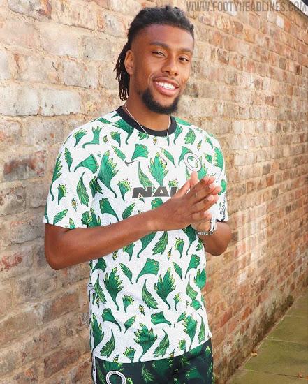 Nike发布尼日利亚20-22赛季赛前球衣