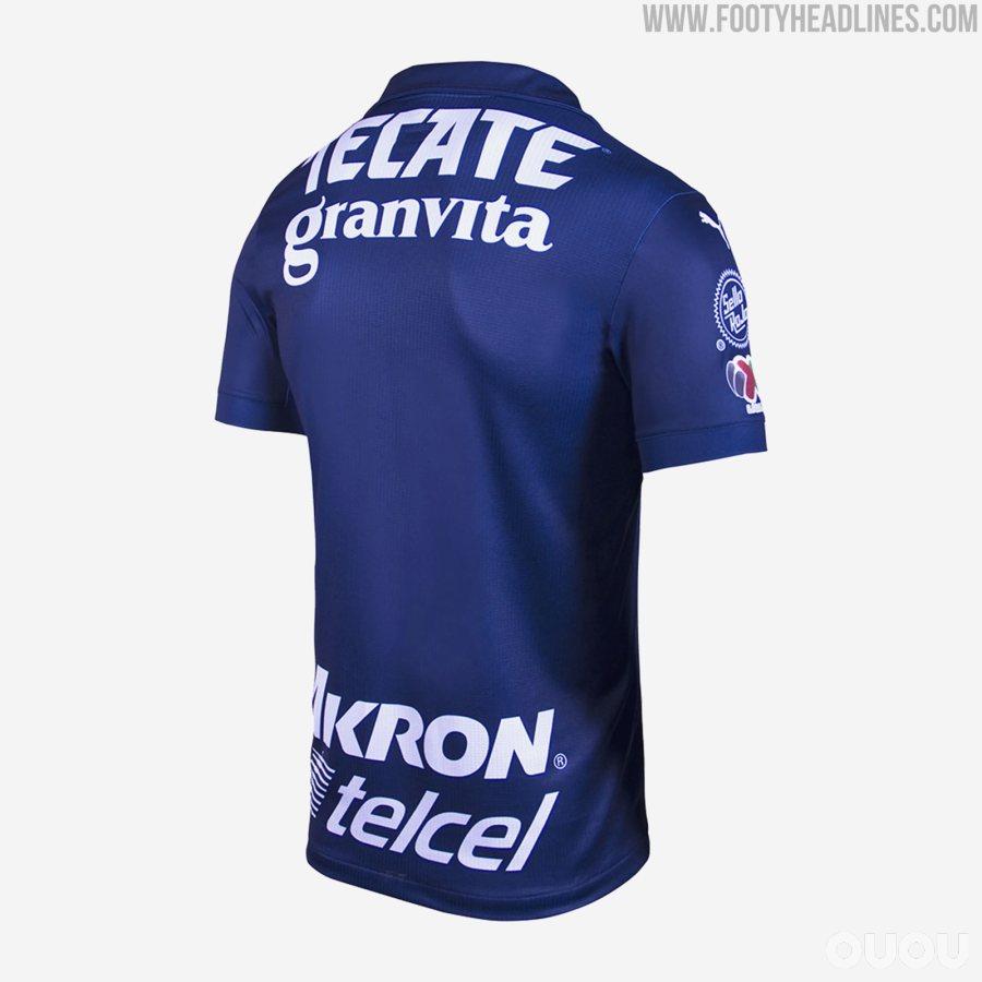 Puma为瓜达拉哈拉推出新赛季第二客场球衣