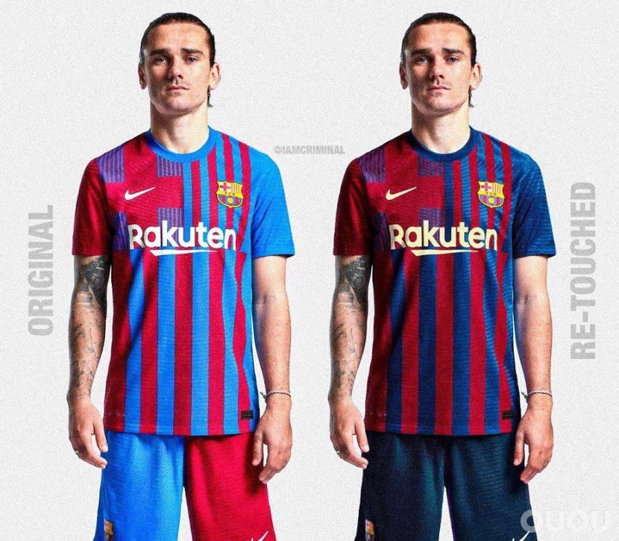 巴塞罗那俱乐部21-22赛季主场套装