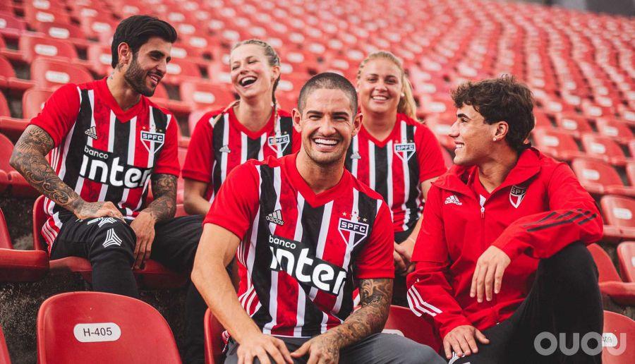 阿迪达斯发布圣保罗20-21客场球衣