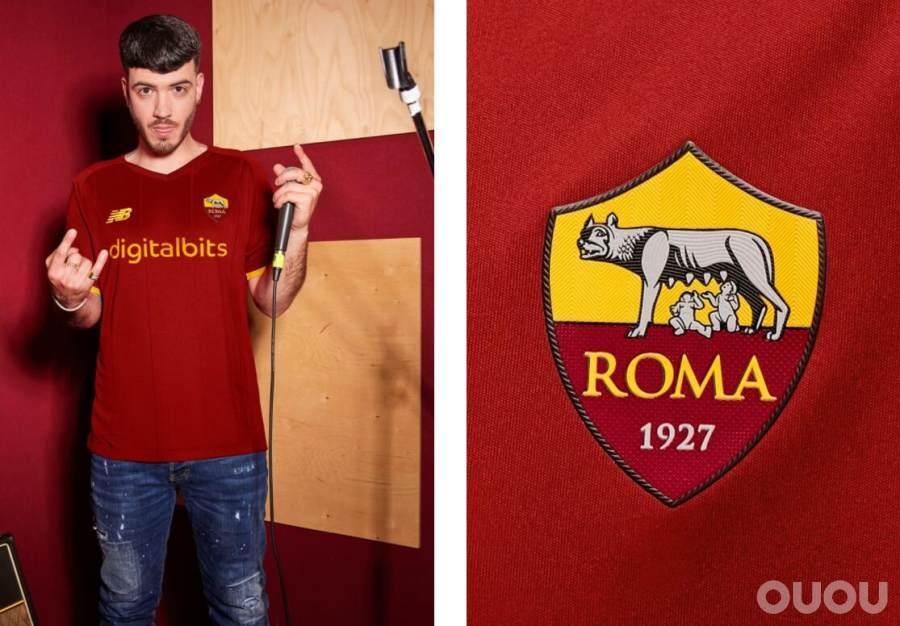 New Balance发布罗马2021/2022赛季主场服