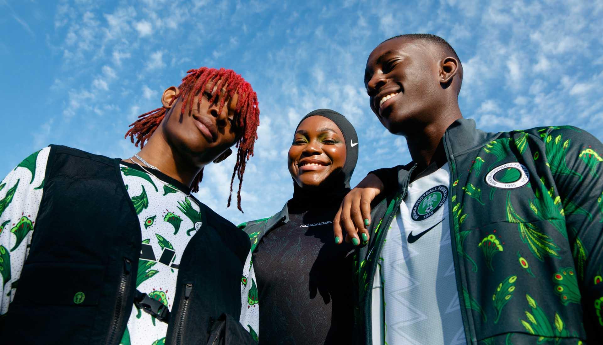 耐克发布尼日利亚国家队2020年系列