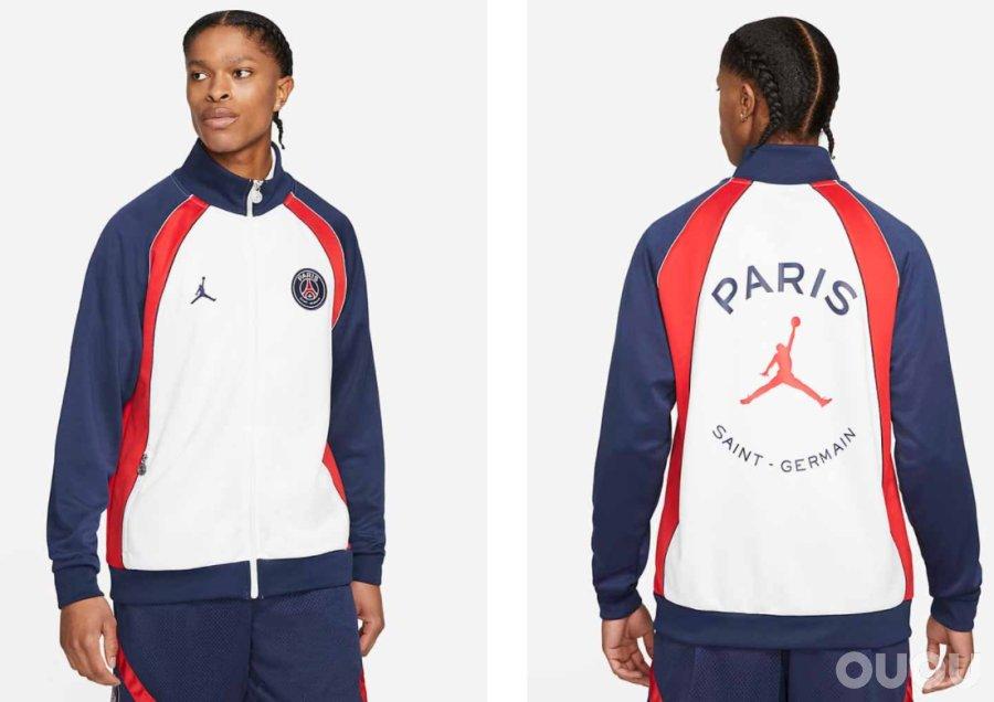 细品2021/2022赛季巴黎圣日耳曼x Jordan的全线产品