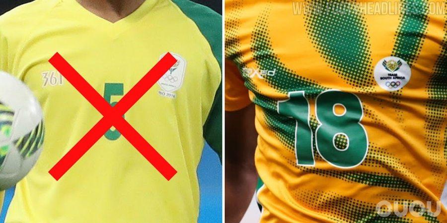 南非2020东京奥运球衣揭晓