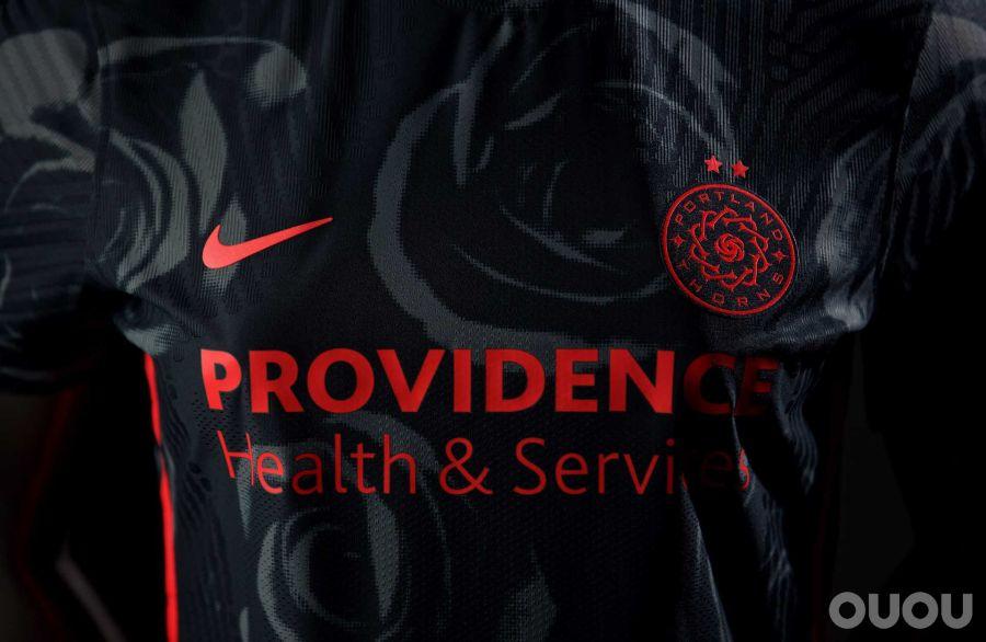 Nike发布波特兰荆棘2020/21赛季主客场球衣