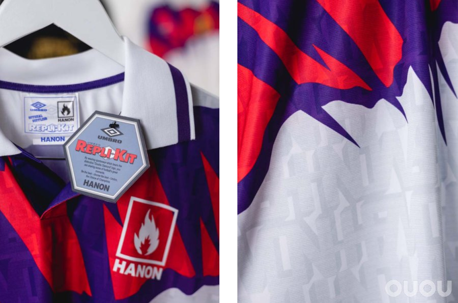 HANON x Umbro复刻苏格兰92年客场球衣