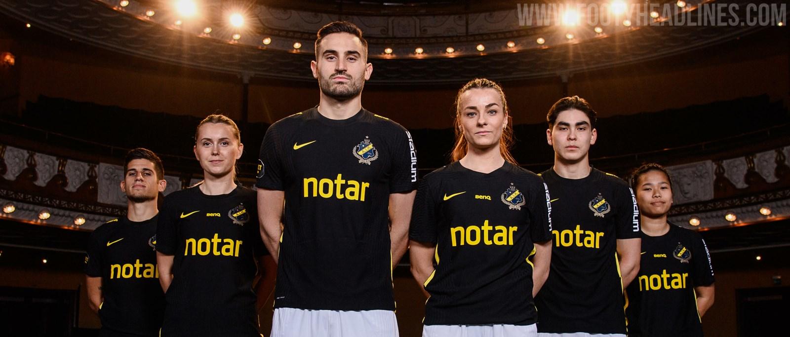 AIK索尔纳2021主客场球衣发布