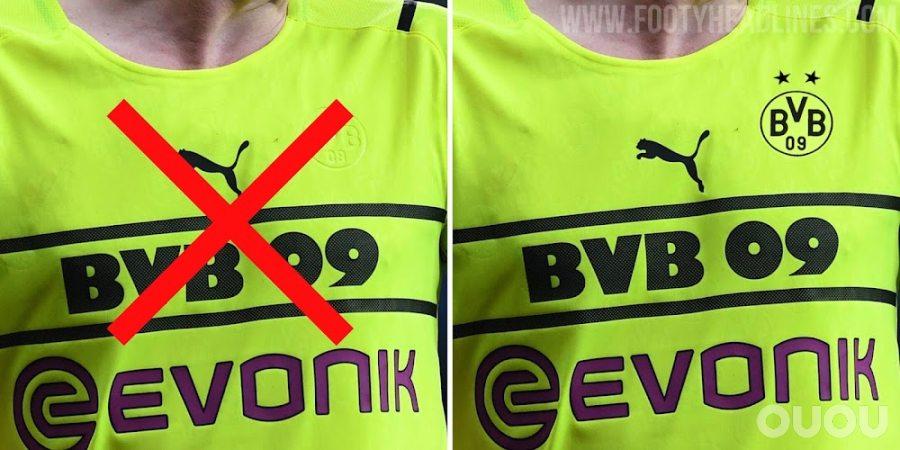 多特蒙德再次更改PUMA第二客场球衣