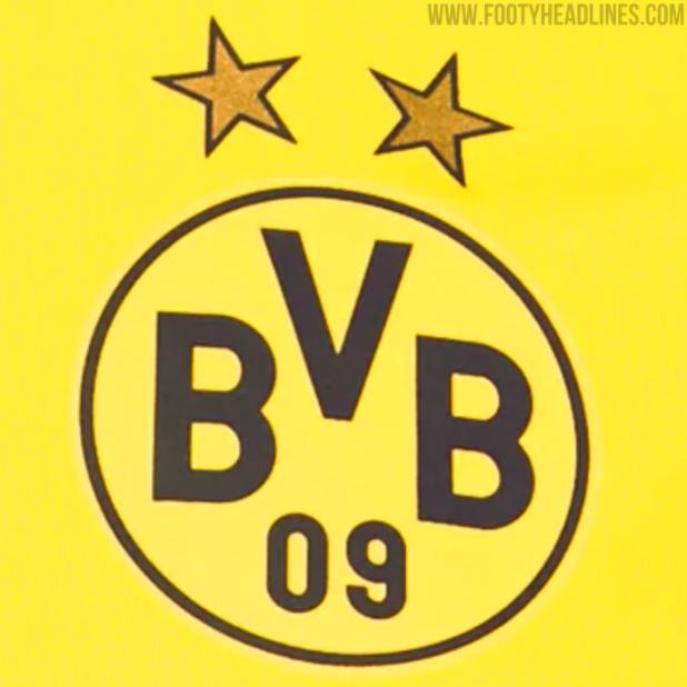 曝光:多特蒙德22-23赛季主场球衣将使用赛博黄色