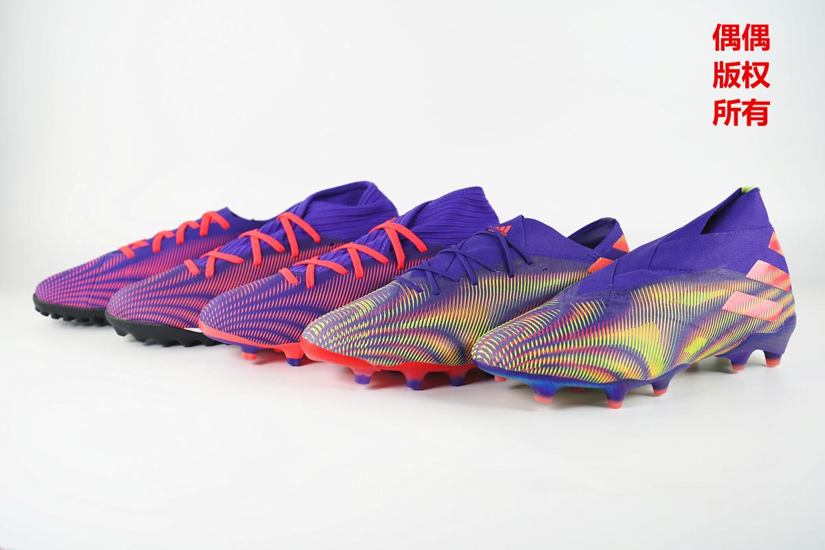 鞋面提升是重点 阿迪达斯全新Nemeziz全等级横向静态对比