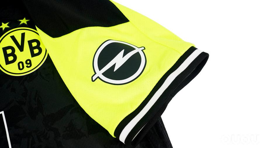 把时代经典穿在身上 PUMA多特蒙德NULL NE90N特别版球衣欣赏
