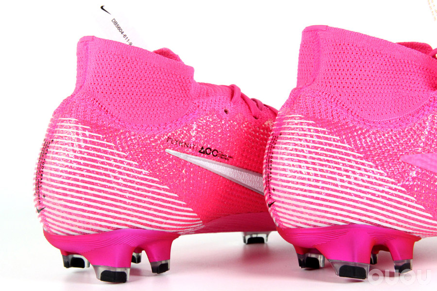 粉红豹再现,Mercurial Superfly 7 Elite Mbappé Rosa FG赏析